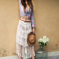 The Margarita Crochet Skirt