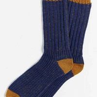 O'Hanlon Mills Pleated Yarn Boot Sock