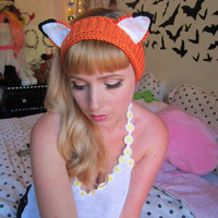 Fantastic Fox Headband Ear Warmer