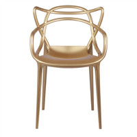 Masters Style Chair Gold