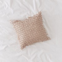 Lattice Throw Pillow   Urban Outfitters