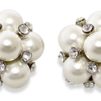 Betsy Pearl Cluster Earrings - Set of 4 {Backorder Ships Late August}
