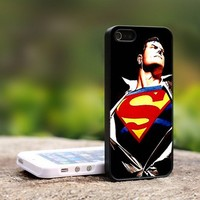 Superman Returns Movie - For iPhone 5 Black Case Cover