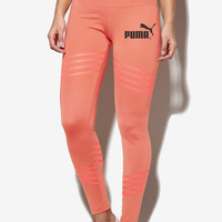 PUMA Pro Exercise Fitness Gym Running Training Leggings