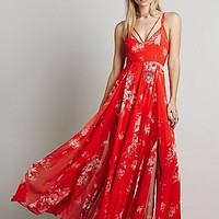 Free People Womens Winter Garden Maxi