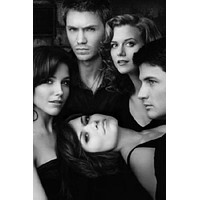 "One Tree Hill Poster Black and White Poster 24""x36"""