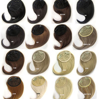 B2 1# Hair Fringe,Wig Hairpiece,Bangs wig,womanwigs,wig hairs,clip on bangs,side long bangs,cosplay,Accessories,High-temperature wire