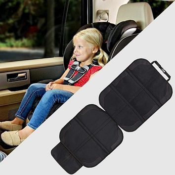 Car Seat Cover Oxford PU Leather Car Seat Protector Mats Child Baby Pads Seat Protective Mat For Baby Kids Protection Cushion