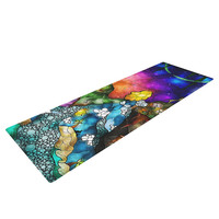 "Mandie Manzano ""Fairy Tale Alice in Wonderland"" Yoga Mat"