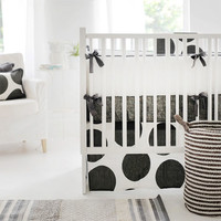 Tribecca Charcoal Baby Bedding
