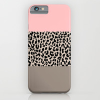 Leopard National Flag XVI iPhone & iPod Case by M Studio