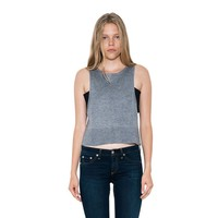 Womens Smoke Grey Lynx Bandeau Tank Pullover Sweater By One Grey Day