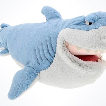 """Disney Parks Finding Nemo Bruce Talking Plush 17"""" New With Tags"""