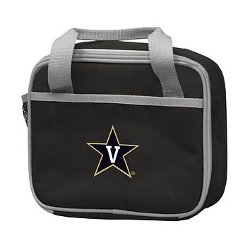 VANDERBILT UNIVERSITY BLACK LUNCH BOX F/ PRIMARY LOGO