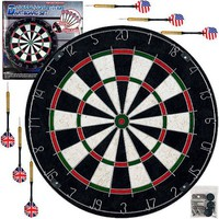 Trademark Games Pro Style Bristle Dart Board Set with 6 Darts and Board - Walmart.com