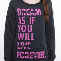 Glamour Kills Clothing - Live Forever Tomorrow FT Pullover