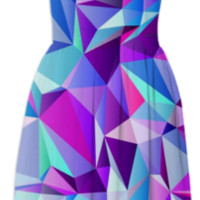 PURPLE+TEAL created by House of Jennifer | Print All Over Me