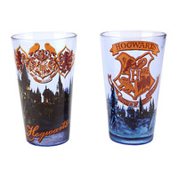 Harry Potter Hogwarts Pint Glasses Set