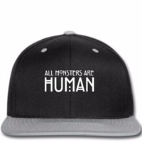 all monsters are human - Snapback