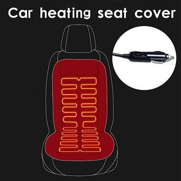 12V Heated car seat cover  The cloak on the car seat Seat heating Universal Automobile cover car seat protector Car seat heating
