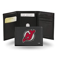 Cool Wallets New Jersey Devils Embroidered Trifold