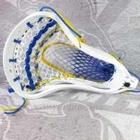 Limited Edition LU Reverse Royalty Wax Mesh Head | Lacrosse Unlimited