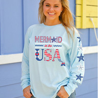 Jadelynn Brooke Mermaid In The USA - Chambray