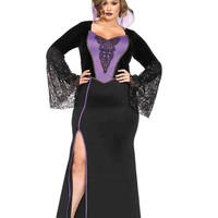 Leg Avenue Female Plus Size 2PC.Evil Queen Costume 85489X