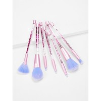 Quicksand Handle Makeup Brush 7pcs