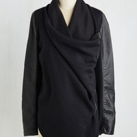 Urban Long Long Sleeve Sharp Scooter Jacket by ModCloth
