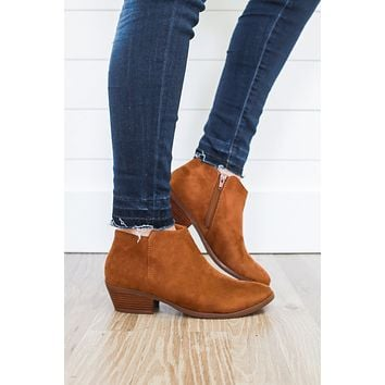 Season's Best Booties - Brown