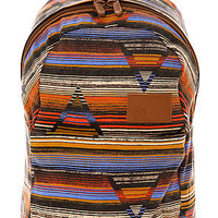 Volcom The Going Back Canvas Backpack in Multi Stripe : Karmaloop.com - Global Concrete Culture