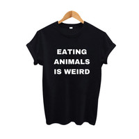 Vegan T-shirt - Black