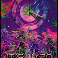 Opticz - It's 420 Somewhere - Black Light Poster