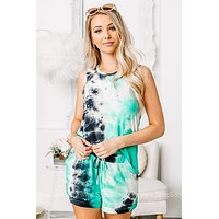 The Emerald Isle Tie Dye Tank Top