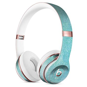 Textured Teal Surface Full-Body Skin Kit for the Beats by Dre Solo 3 Wireless Headphones