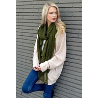 Anticipating Autumn Scarf - Olive