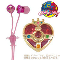 [going to release it for the - end during reservation December] earphone Kozu Mick heart compact with beautiful girl soldier sailor moon compact case