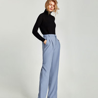 POLO NECK SWEATER - View all-KNITWEAR-WOMAN | ZARA United States