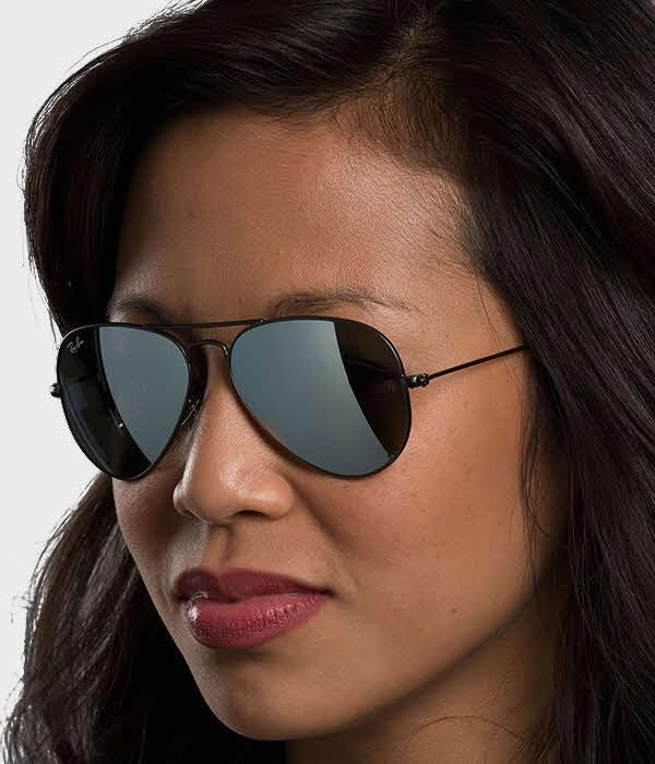 Image of Ray-Ban RB3025 - Large Metal Aviator Sunglasses For Women and Men