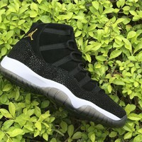 Air Jordan 11 Retro Black Stingray AJ11 PRM Heiress Sneakers - Best Deal Online