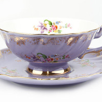 T2 Afternoon Tea Cup And Saucer Purple