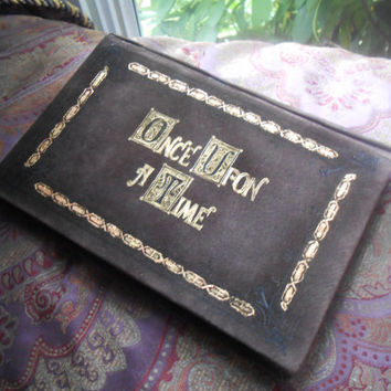 """Once Upon A Time Henry's Leather Book Cover for Kindles, iPad Mini or other 6""""-8"""" Tablets"""
