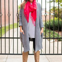 Find A Way Cardigan, Gray