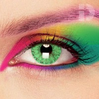 iD Lenses Solar Green Coloured Contacts
