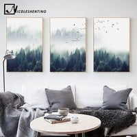 Landscape Wall Nordic Decoration