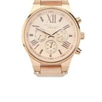 Rose Gold Rose Gold Boyfriend Watch by Charlotte Russe