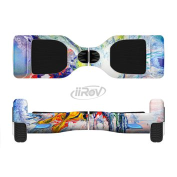 The Bright White and Primary Color Paint Explosion Full Body Skin Set for the Smart Drifting SuperCharged Transportation iiRov