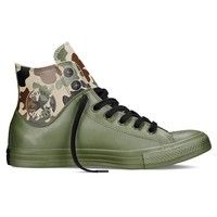 Camo Rubber Chuck Taylor Sneakers by Converse
