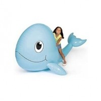 """Giant Inflatable Whale. 6 ft. x 54"""" x 4 ft. Vinyl."""